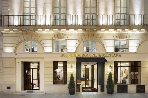 Foto del exterior de Hotel Bourgogne & Montana