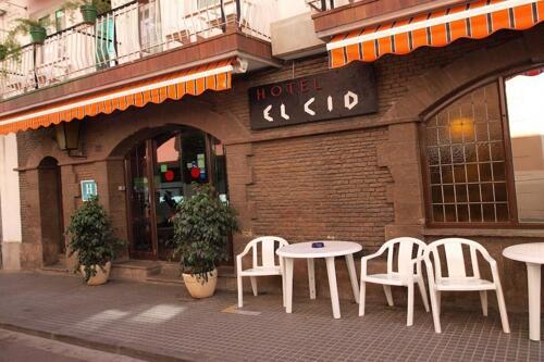 Außenansicht - Hotel El Cid