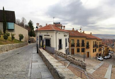 Foto del exterior de Hotel Puerta De La Santa