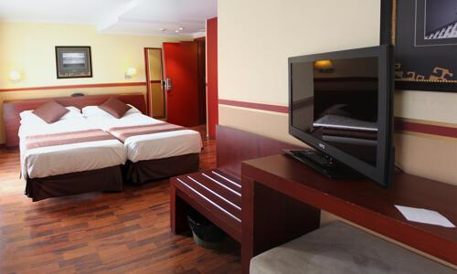 Foto de una habitación de Hotel Himàlaia Soldeu
