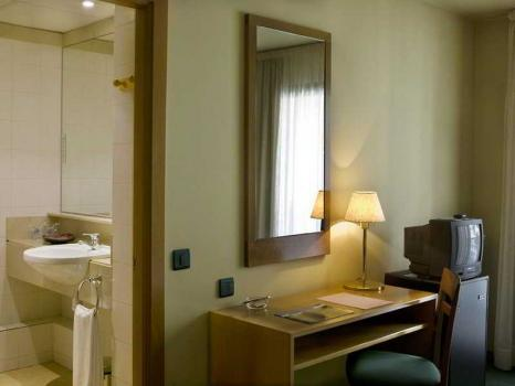 Foto di una camera da Hotel Salvia D'Or