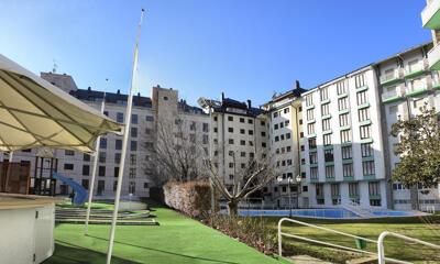Foto del exterior de Gran Hotel de Jaca