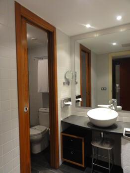 Badezimmer - Hotel Font D'Argent Canillo