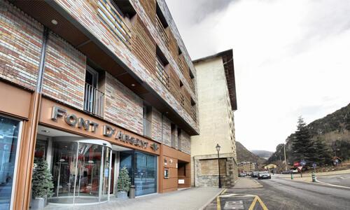 Foto degli esterni Hotel Font D'Argent Canillo