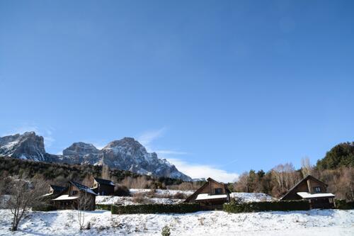 Foto del exterior de Piedrafita Mountain