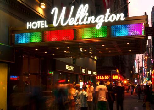 Foto del exterior de Wellington Hotel