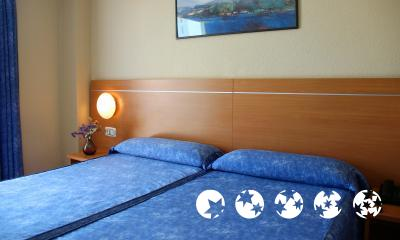 Foto de una habitación de Hotel Gandia Playa