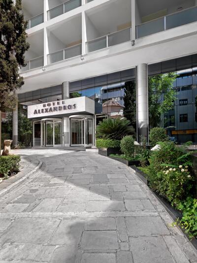 Foto del exterior de Hotel Alexandros