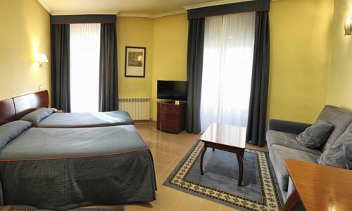 Foto de una habitación de Hotel Las Moradas