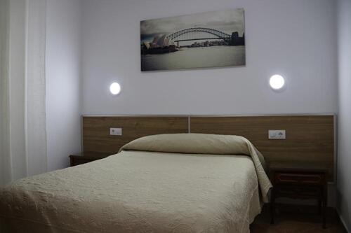 Foto de una habitación de Hostal Los Mellizos