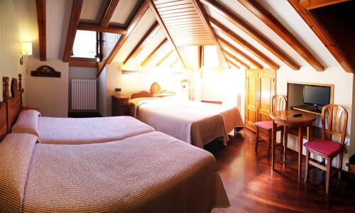 Foto de una habitación de Hotel Aragüells