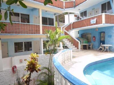 Foto del exterior de Casa de Huéspedes Santa Fe Acapulco