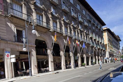 Außenansicht - Hotel Almudaina