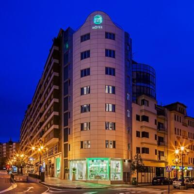 Foto del exterior de Hotel Nature Oviedo