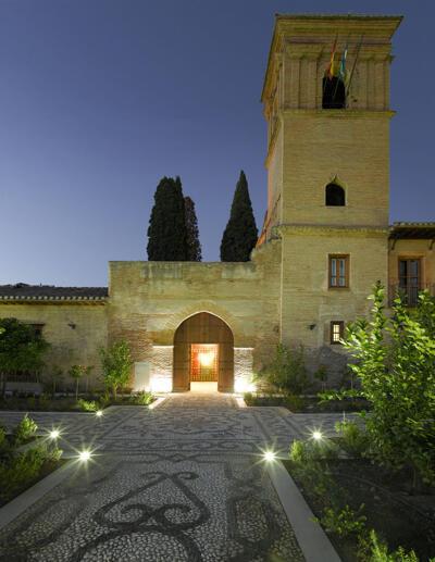 Außenansicht - Parador de Granada