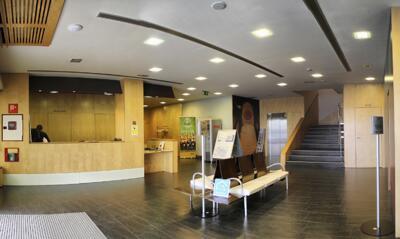 Foto de las zonas nobles de Hotel Gobeo Park