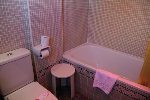 Badezimmer - Hotel Adsubia