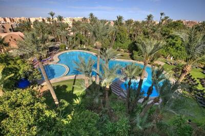 Foto del exterior de Hotel Marrakech Le Semiramis