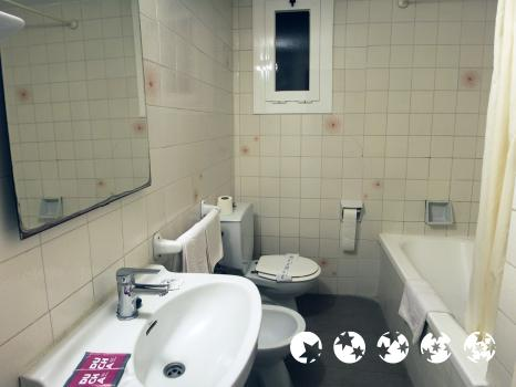Foto del baño de Hotel Continental Tossa