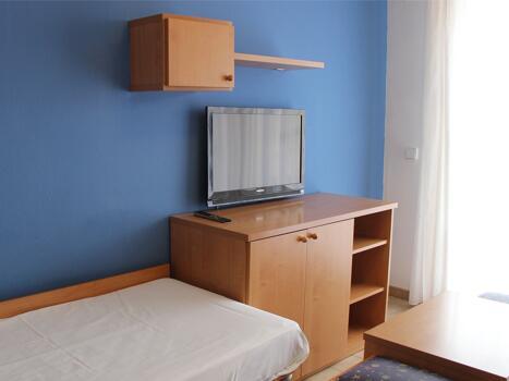 Foto de una habitación de Aparthotel Voramar