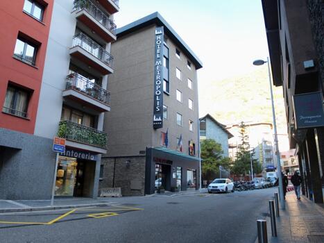 Foto del exterior de Hotel Metrópolis