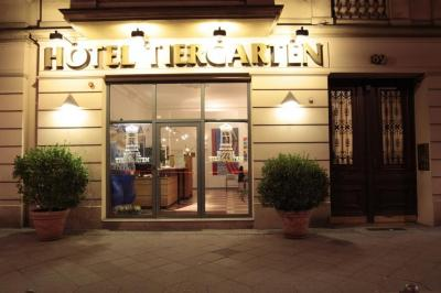 Außenansicht - Hotel Tiergarten Berlin
