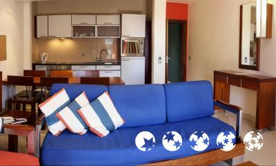 Foto de una habitación de Hotel Apartamento Balaia Atlantico
