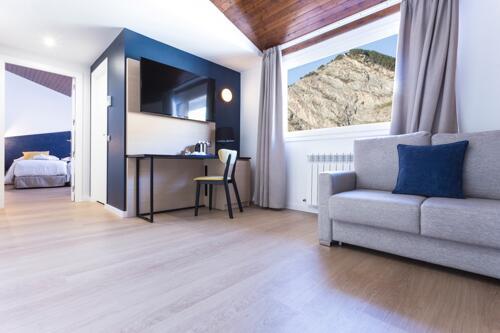 Foto di una camera da Hotel Roc Meler