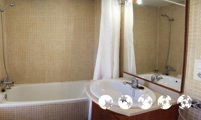 Foto del baño de Aparthotel Comtat Sant Jordi