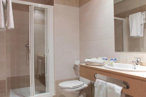 Foto del baño de Hotel FC Infantas de León