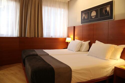 Foto de una habitación de Silken Ciudad Gijón