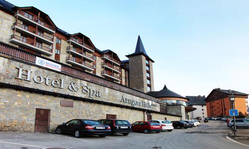 Foto del exterior de Fun Aragon Hills Hotel & Spa