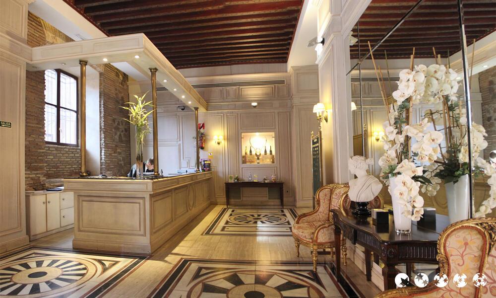 Resultado de imagen de Hall de hotel� fontecruz toledo