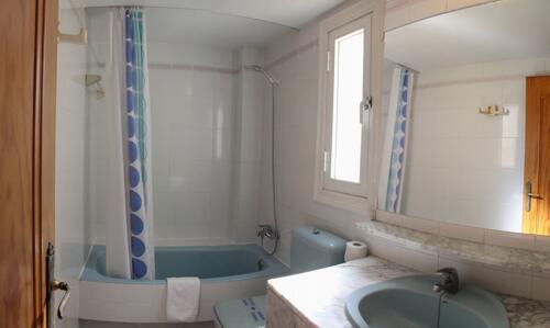 Foto del bagno Apartamentos Moguima