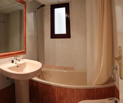Foto del baño de Apartamentos Topacio Unitursa (I, II, III, IV)