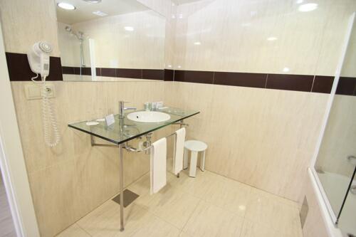 Foto del baño de Aparthotel & Spa Acualandia