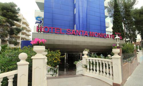 Foto del exterior de Hotel Santa Monica Playa