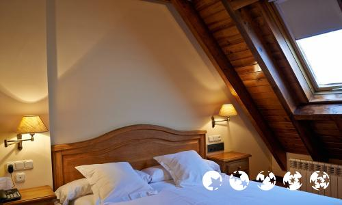 Foto de una habitación de Hotel Chalet Bassibe