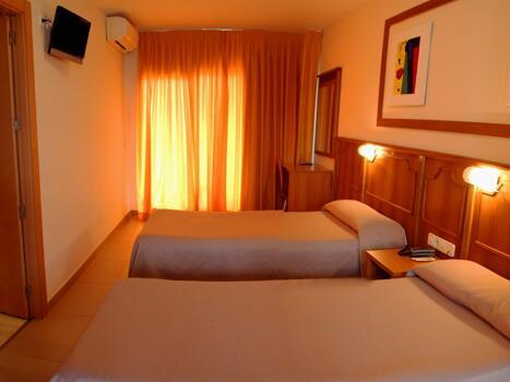 Foto de una habitación de Hotel San Luis