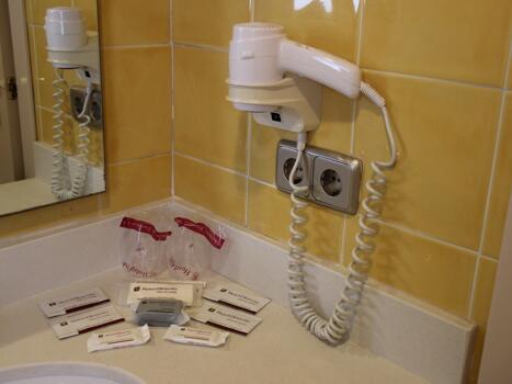 Foto del bagno Hotel Biarritz