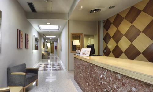 Foto de las zonas nobles de Aparthotel Exe Campus San Mames
