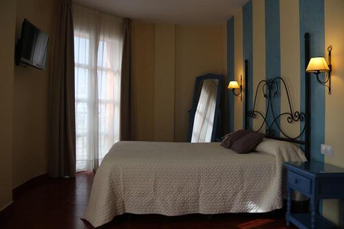 Foto de una habitación de Hotel Alboran Chiclana