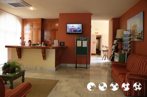 Foto de las zonas nobles de Hotel Alboran Chiclana