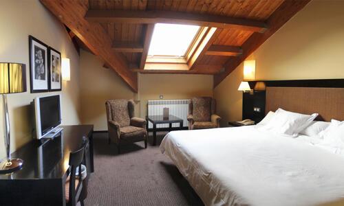 Foto de una habitación de Hotel HG Alto Aragón