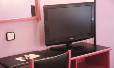 Foto de una habitación de Hotel City House Alisas
