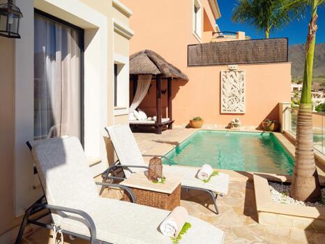 Zimmer - Hotel Royal Garden Villas & Spa