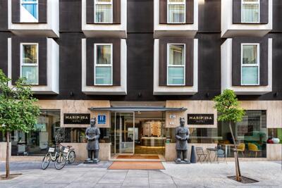 Foto degli esterni Mariposa Hotel Malaga