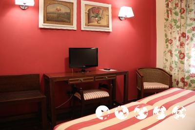 Foto de una habitación de Hotel Husa Urogallo