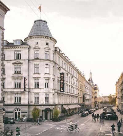 Foto degli esterni Ibsens Hotel