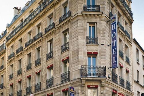 Foto del exterior de Best Western Nouvel Orléans Montparnasse